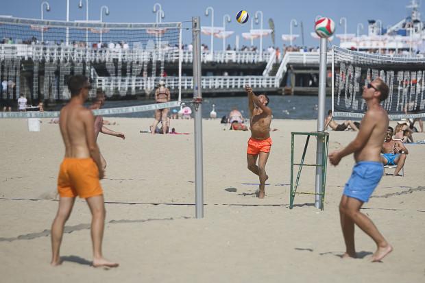 Plaża w Sopocie: jedno z najmodniejszych latem miejsc w Trójmieście.