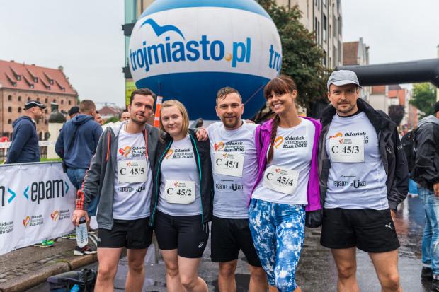 Załoga Trojmiasto.pl podczas ubiegłorocznego Business Run