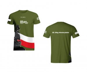 Okolicznościowe koszulki, które będzie można nabyć podczas niedzielnej imprezy.
