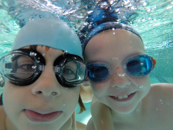 Nauka pływania dla dzieci w Alice Swim.