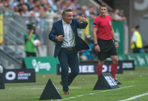 Trener Piotr Nowak cieszy się, że do gry wracają ważni piłkarze z poprzedniego sezonu, jak Rafał Wolski i Simeon Sławczew.