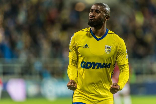 Tak cieszył się Yannick Sambea po golu na 2:1