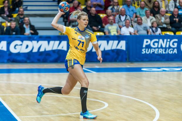 Martyna Borysławska nie miała litości dla UKS PCM Kościerzyna, w której to drużynie grała w latach 2014-16. W sobotę była najskuteczniejszą piłkarką ręczną Vistalu Gdynia.