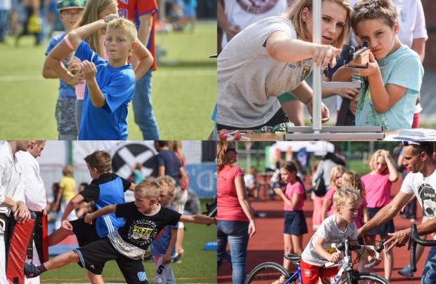 W niedzielę na terenie AWFiS dzieci będą miały okazję zapoznać się z rozmaitymi dyscyplinami sportu.