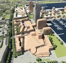 Rejon w okolicy Sea Towers. Część ma już właściciela, część będzie jeszcze prywatyzowana.