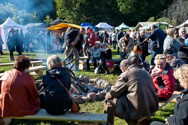 Gdyńska impreza to także okazja do biesiadowania na świeżym powietrzu.