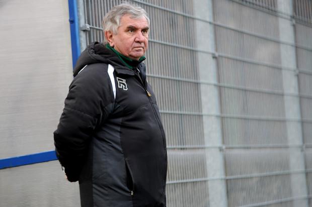 Piłkarze rezerw Bałtyku otrzymali trzy czerwone kartki, a ich trener - Jerzy Jastrzębowski (na zdjęciu) w przerwie został wyrzucony na trybuny.
