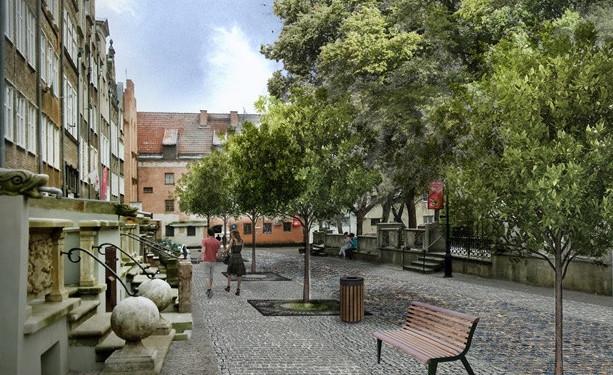 Tak ma wyglądać ulica Św. Ducha po zakończeniu robót.