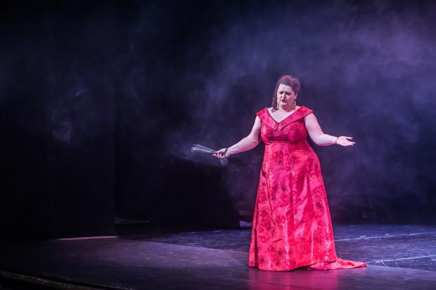 """Najcieplej przyjętą przez publiczność solistką była Monika Świostek, którą widzowie Opery Bałtyckiej wkrótce ujrzą w tytułowej roli w operze """"Hrabina"""". Premiera w styczniu."""