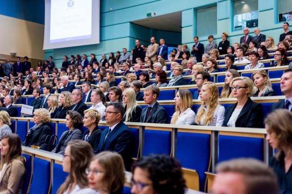 Inauguracja roku akademickiego 2016/2017 na Uniwersytecie Gdańskim.