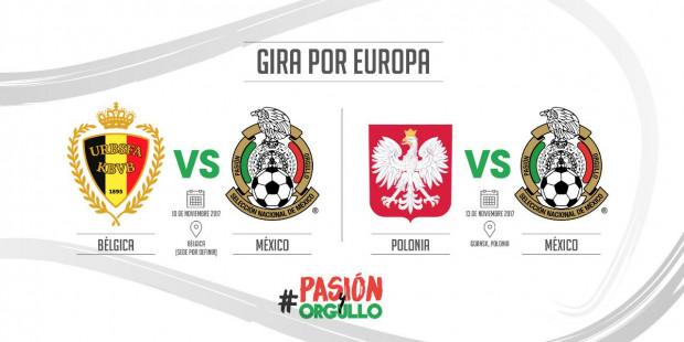 Grafika z meczami reprezentacji Meksyku.