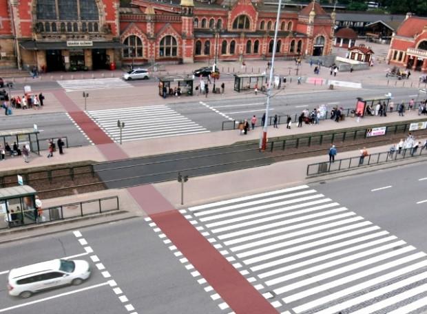 Wizualizacja jednego z wariantów przejścia z Dworca Gdańsk Główny pod Krewetkę. Ten projekt miał dużo zwolenników i przeciwników, ostatecznie nie wygrał.