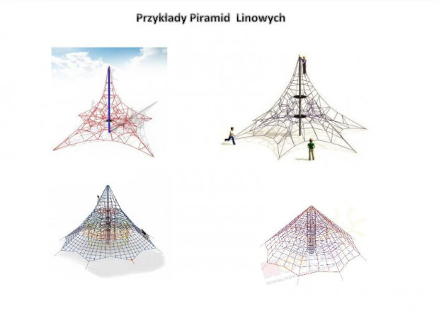 W ramach projektów ogólnomiejskich, w Gdańsku powstanie pięć linariów, czyli piramid linowych.