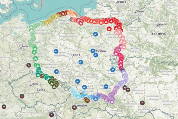 """Podczas """"Różańca Do Granic"""" punkty modlitwy będą zlokalizowane co jeden kilometr wzdłuż całej granicy Polski, liczącej ponad 3,5 tys. km."""