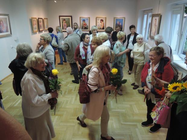 Wernisaż wystawy w Wyspie Skarbów GAK.