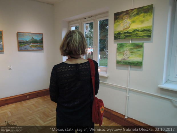 Wernisaż wystawy Gabriela Oleszka. Wyspa Skarbów. GAK