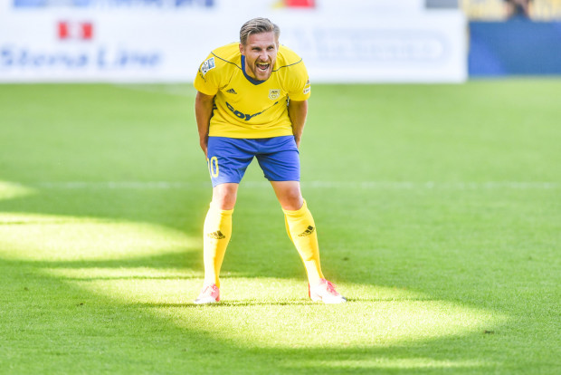 Siergiej Kriwiec wreszcie ma powody do radości w Arce Gdynia. W sparingu z Olimpią w Grudziądzu strzelił 2 gole oraz zaliczył asystę.