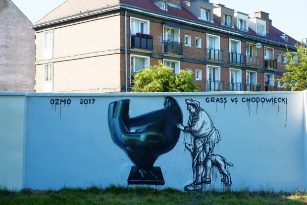 Projekt Urban Walk Architecture Talk mural Ozmo fot. Krzyszto Olechnowicz/mat.GGM