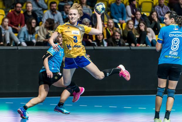 Katarzyna Janiszewska zapisała w sobotę na swoim koncie 10 bramek.