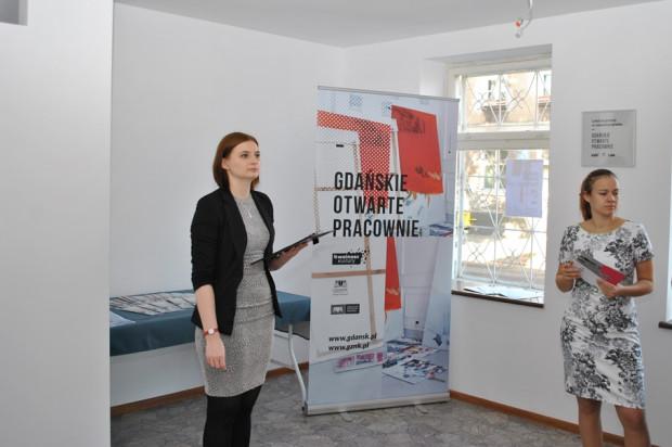 Dzisiaj w lokalu przy ul. Na Zaspę 34 odbyła się uroczysta inauguracja programu Gdańskie Otwarte Pracownie.