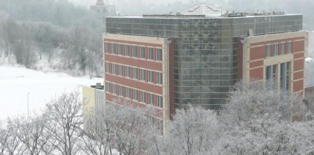 Budynek Wydziału Zarządzania i Ekonomi Politechniki Gdańskiej.