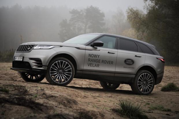 Piękna, muskularna sylwetka z wyważonymi proporcjami - poznajcie Range Rovera Velara.