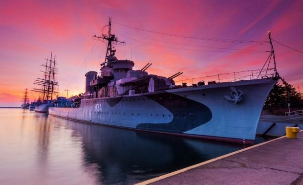 ORP Błyskawica to dziś okręt-muzeum. Nie różni się bardzo pod tym względem od innych okrętów polskiej floty.