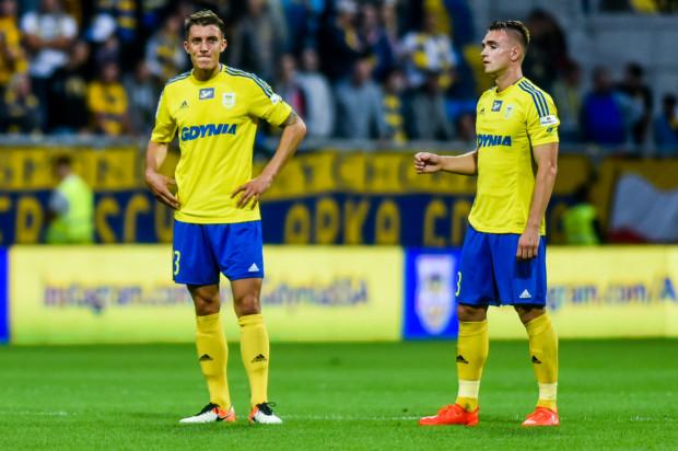 Damian Zbozień (z lewej) i Marcin Warcholak nie tylko potrafią stworzyć okazję na gola kolegom po wrzucie piłki z autu w pole karne, ale sami zdobywają także bramki po stałych fragmentach gry.
