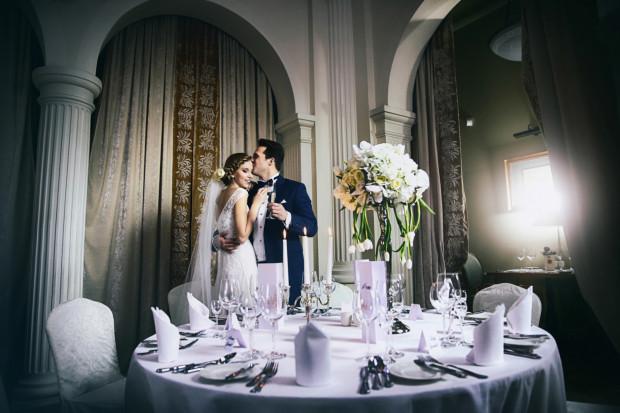 Sesja ślubna w Hotelu Rezydent w Sopocie.