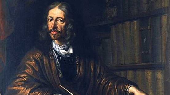 W gdańskiej bibliotece PAN znajduje się jedyny oryginalny portret astronoma. Namalował go Daniel Schultz.
