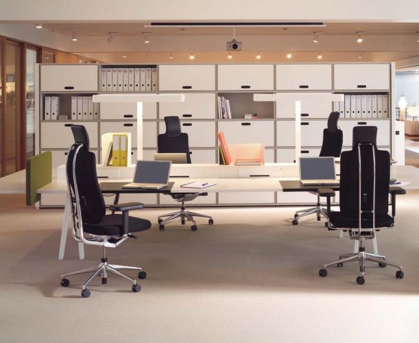 Przestrzeń oficjalna dzieli się z reguły na część biurową i konferencyjną.