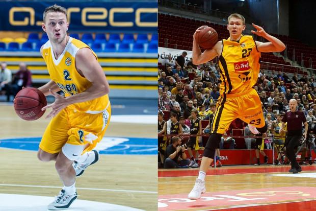 Dwaj koszykarzy urodzeni w 1997 roku, Marcel Ponitka (z lewej) oraz Michał Kolenda (z prawej) pokazali na początku sezonu, że zrobili krok w przód jeżeli chodzi o ich umiejętności i czucie gry.