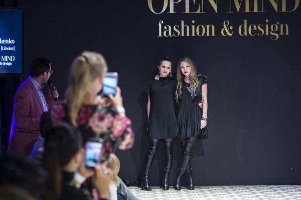 W trakcie wieczoru odbyło się aż osiem pokazów trójmiejskich projektantów. Na zdjęciu projektantki Victoria i Irina Tymoshenko.