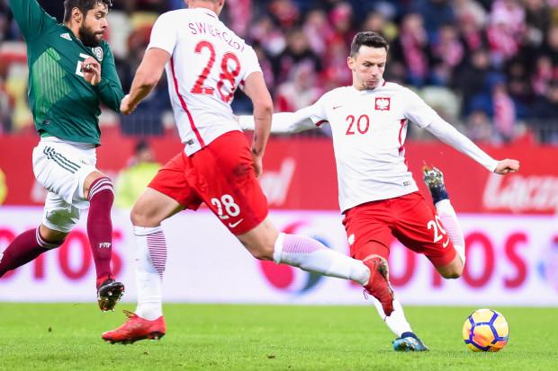 Występ Rafała Wolskiego był setnym meczem piłkarza trójmiejskiego klubu w pierwszej reprezentacji Polski.
