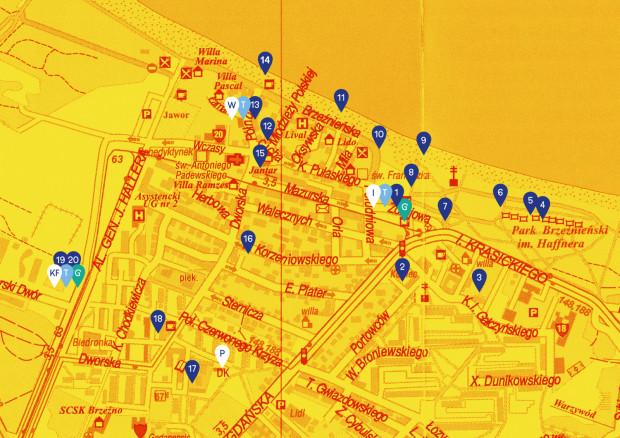 Ulotki z mapą Narracji będą dostępne w punkcie informacyjnym przed Domem Zdrojowym w godzinach 18-24.