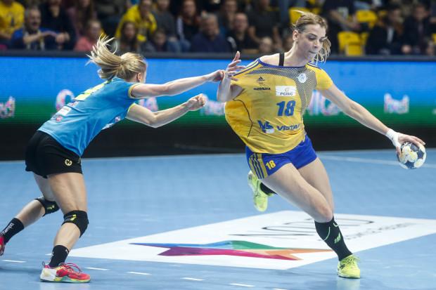 Aleksandra Zych zdobyła dla Vistalu 7 bramek w ostatnim tegorocznym spotkaniu gdynianek w Superlidze.
