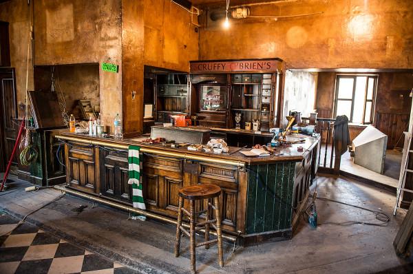 Scruffy O'Brien przez ponad dwie dekady działalności na dobre wrósł we wrzeszczański krajobraz. Od kilku tygodni w dawnym pubie trwa remont.