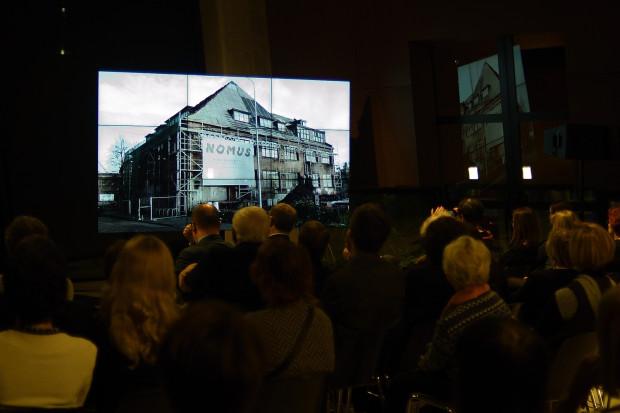 Tymczasową siedzibą Nowego Muzeum Sztuki NOMUS stanie się remontowany obecnie budynek przy ul. Jaracza 14, gdzie mieścił się Instytut Sztuki Wyspa.