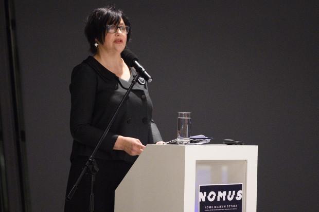 Funkcję pełnomocnika ds. stworzenia Nowego Muzeum Sztuki NOMUS powierzono Anecie Szyłak (na zdjęciu).