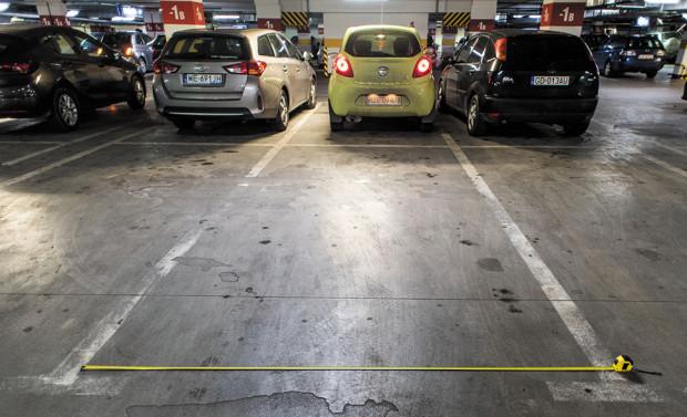 Miejsca parkingowe będą szersze o 20 cm.