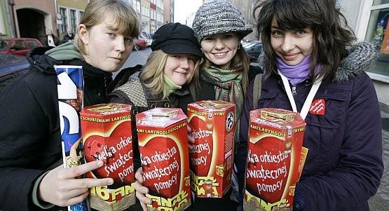 Tylko w Gdańsku datki na rzecz chorych dzieci zbierać będzie około 1200 wolontariuszy.
