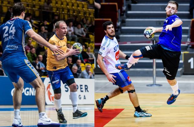 Wybrzeże Gdańsk i Spójnia Gdynia do I-ligowej rywalizacji stawały sześciokrotnie. Za każdym razem górą byli gdańszczanie. We wtorek Paweł Ćwikliński (z lewej), Łukasz Rogulski (z prawej) i ich drużyny zmierzą się w Superlidze.