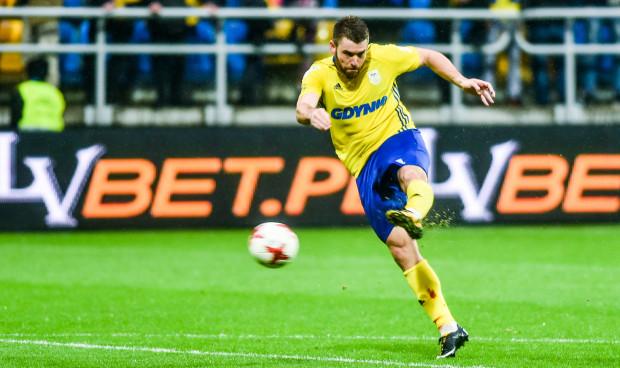 Grzegorz Piesio oddał w tym sezonie 36 strzałów w ekstraklasie, co jest najlepszym wynikiem w Arce. Niestety nie przyniosły mu one gola.