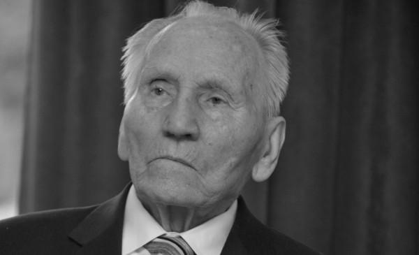 Kazimierz Piechowski zmarł w wieku 98 lat. Zdjęcie pochodzi z 2015 roku.