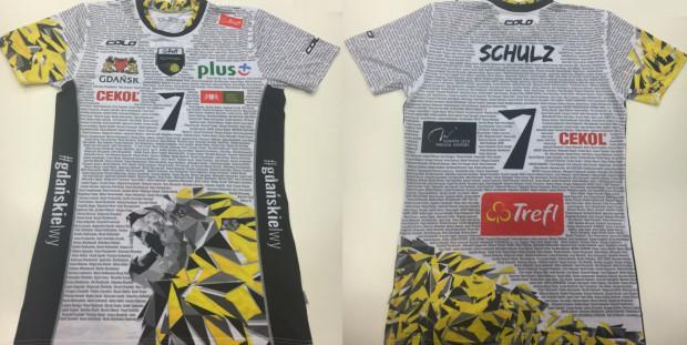 Nowy wzór na przykładzie koszulki Damiana Schulza.