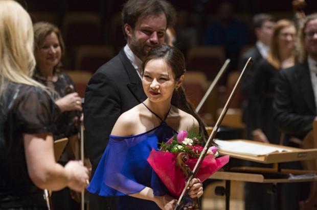 Bomsori Kim skradła serca słuchaczy emocjonalną interpretacją Koncertu d-moll Henryka Wieniawskiego.