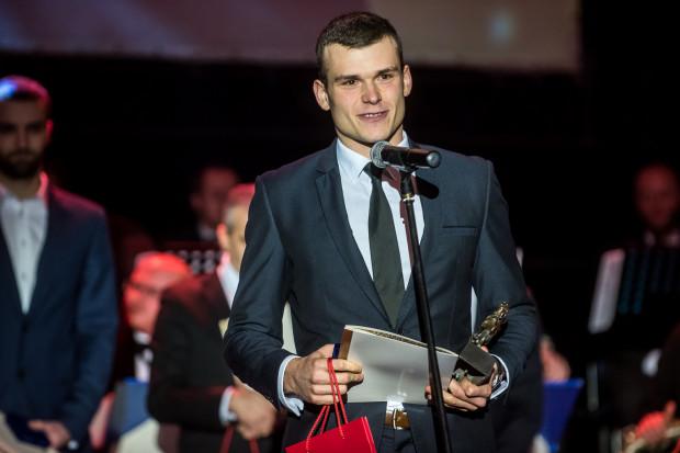Mateusz Biskup, wicemistrz świata i Europy w wioślarstwie, został najlepszym sportowcem Gdańska w 2017 roku.