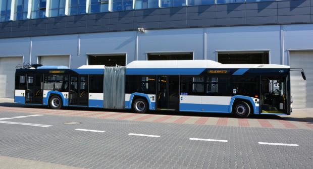 Wszystkie planowane nowe trolejbusy w Gdyni pojawią się na ulicach w 2019 roku.