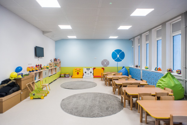 W Gdyni Cisowej otwarto nowy żłobek Koniczynka dla 80 dzieci.