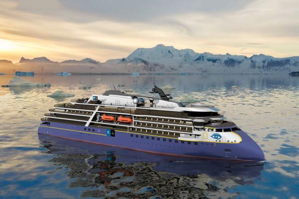 Zastosowanie kadłuba z linii X-BOW w statku pasażerskim zmniejszy uderzanie fal, przez co zwiększy komfort podróżowania i będzie prowadzić do znacznego zmniejszenia hałasu i wibracji.